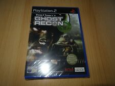 PS2 Ghost Recon, UK Pal, Brand New & Sony Factory Sealed