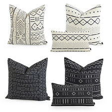 Hofdeco Premium HEAVY WEIGHT Cushion Case BOHO African Mud Cloth Pillow Cover