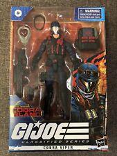 G.I. Joe Classified Series Special Missions Cobra Island #22 COBRA VIPER IN HAND