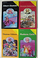 Pocket Biographies Great Minds Lot of 4 Einstein Bell Edison Curie minicomics