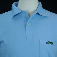 VTG 80's Mad Dog Productions Croc O' Shirt Dead Crocodile Anti-Preppy Shirt Sz M