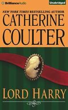 LORD HARRY unabridged audio book on CD by CATHERINE COULTER - Brand New!