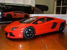 1/18 Welly Lamborghini Aventador in Orange ***MINT IN BOX!***