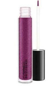 NIB MAC Dazzleglass Lip Gloss  Boys Go Crazy - Purple Blue Full Size - 1.9 g