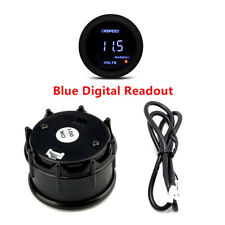 "2"" Vacuum Pressure Meter Turbo Boost Gauge LED Digital Fit For Any car Model"