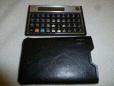 VINTAGE HP HEWLETT PACKARD 11C SCIENTIFIC CALCULATOR W CASE BUSINESS VGC TESTED