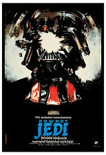 1980's Sci-Fi  *Star Wars: Return of the Jedi * Polish Movie Poster Large 24x36