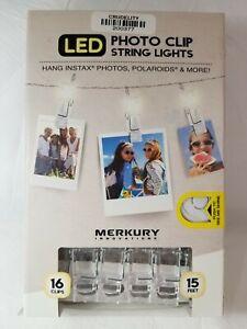 LED Photo Clip String Lights