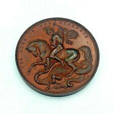 More details for vintage polytechnic technical school london bronze medal / medallion