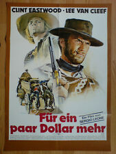 Sergio Leone For A Few Dollars More German 1-sheet Clint Eastwood Renato Casaro
