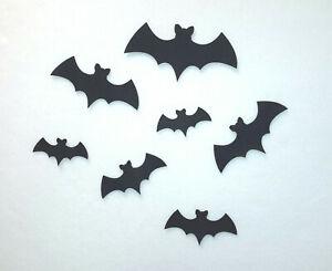 Iron On Felt Bat Silhouettes x 6 - Small, Medium & Large Sizes Available