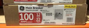 GE PowerMark Gold 100A 22-Spaces 12-Circuit Main Breaker Load Center Value Pack