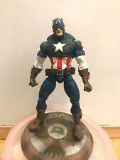 Toy Biz Marvel Legends CLASSIC ultimate CAPTAIN AMERICA Avengers 8 Variant wingB