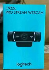 New Logitech C922X Pro Stream Webcam - Black - New In Box Sealed - Ships Fast