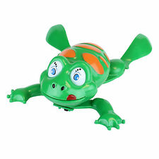 Bath Toy Frog Green Swimming Frog For Kids Water Fun Gift Pre-School OFFER