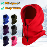 Winter Warm Riding Hat Thermal Fleece Balaclava Neck Warmer Ski Face Mask Hat@@