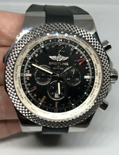 BREITLING Bentley GMT A47362 Rubber Band Automatic Men's 49mm Watch