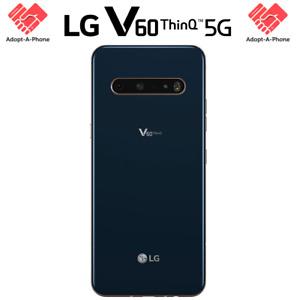 NEW | LG V60 ThinQ 5G LMV600 | 128GB Classy Blue | AT&T + GSM Unlocked