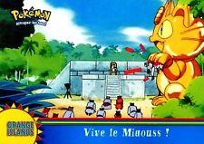 POKEMON Carte TOPPS NEUVE N° OR13 VIVE LE MIAOUSS MEOWTH
