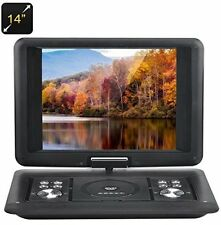 Portable DVD and Blu-Ray Players - BW 14 Inch Portable DVD Player With Copy 270