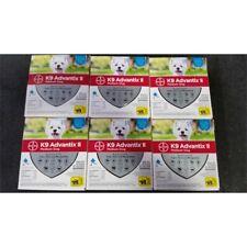 Bayer K9 Advantix Ii Medium Dog Flea Prevention 11-20lbs Lot of 6 Boxes 4-Doses