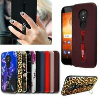 For Moto G8 E6 Plus One Macro G7 Power Play Shockproof Phone Case + Screen Guard