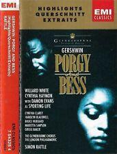 Gershwin, Sir Simon Rattle Porgy And Bess Highlights CASSETTE ALBUM Glyndebourne