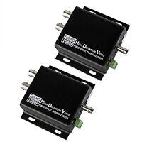 HD SDI to ST Fiber Optical Converter 10KM Transmitter Receiver Loop RS485 Data