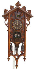 German Cuckoo Clock Black Forest 8 Day Mechanical 1885 Replication 8TMT540/9