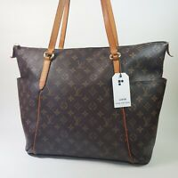 Auth Louis Vuitton Totally GM Monogram M56690 Shoulder Tote Bag Guaranteed LC479