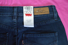 ladies pre-owned blue jeans by levis size 6/S bold curve straight leg