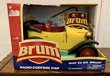 Vintage BRUM Yellow Roadster Radio Shack Control Car Exclusive NEW IN BOX 602797