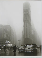 Fred Stein Photograph – Times Square in the Rain, 1949 estate stamped 28/350