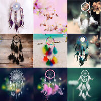 Handmade Dream Catcher feathers wall hanging Decoration Ornament Home Decor Gift