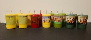 """Lot of 13 Colonial at Home Roomscenter Candles - 2.5"""" Exquisite Home Fragrance"""
