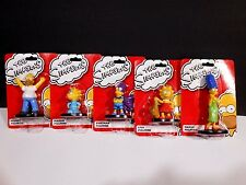 New Simpsons Cake Topper Set 5 Complete Graduation Fathers Birthday Action Figs