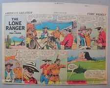 Lone Ranger Sunday Page by Fran Striker and Charles Flanders from 7/26/1942