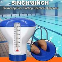 Swimming Pool Spa Chemical Floater Tablet Schwimmdock Chlor-Zufuhr Applicat M7I9