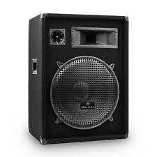 """[OCCASION] ENCEINTE DJ PA 3 VOIES AUNA PUISSANCE 800W SUBWOOFER 38CM 15"""" SONO"""