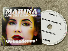Marina and The Diamonds Rare UK Card Promo Cd