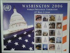 """UNO New York GRUSSMARKEN 84 C BOGEN  2006 Postfrisch Gratisversand """"A""""  (22)"""