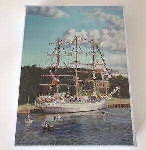 1000 piece Puzzle - Windjammer Sailing Ship. New & Sealed. Mariusz Maczka Artist