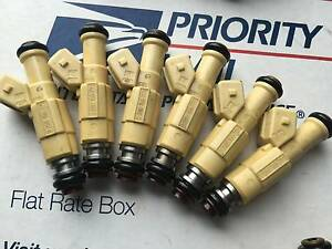 UPGRADE!! 87-97 JEEP 4.0L BOSCH FUEL INJECTORS SET 6 19LB EV1