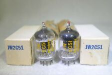 NOS/NIB Matched Pair Western Electric JW 396A/2C51/5670 Square Getter 1952