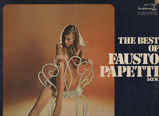 FAUSTO PAPETTI disco LP 33 giri THE BEST OF Raccolta n. 13 made in ITALY 1972