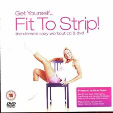 Get Yourself...Fit To Strip! - DVD Only , CD Missing