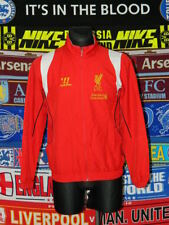 4.5/5 Liverpool adults S warrior football jacket top soccer
