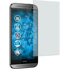 2 x HTC One M8 Protection Film Tempered Glass anti-glare (matte)