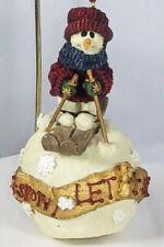 "Boyds Folkstone Ornament, Olaf – ""Let It Snow�, #25650, 1997, Retired, New"