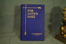 For Love's Sake by L M Zimmerman Lutheran Pastor  old blue book decorators shelf